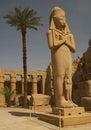 Ramses II statue Stock Images