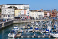 Ramsgate kent england royal harbour and marina at uk Royalty Free Stock Photography