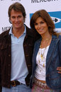 Rande gerber cindy crawford heal bay th anniversary annual dinner beach santa monica ca Royalty Free Stock Photos