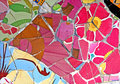 Random Mosaic Pattern Royalty Free Stock Photo