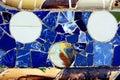Random Mosaic Pattern - Gaudi Royalty Free Stock Photo