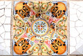 Random Mosaic Pattern - Gaudi Royalty Free Stock Photo