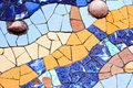 Mosaic Gaudi Royalty Free Stock Photo