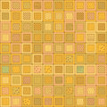 Random Pattern Mosaic Royalty Free Stock Photo