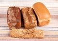 Range of bakery products Stock Photo