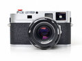 Rangefinder camera picture of classic Royalty Free Stock Photos