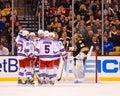 Rangers Score! Stock Photo