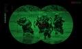 Rangers Team During Night Oper...
