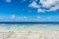 Rangiroa atoll french polynesia paradise view of Royalty Free Stock Photos