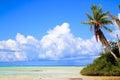 Rangiroa atoll tuamotu islands french polynesia Royalty Free Stock Photos