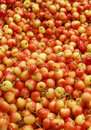 Ranier Cherries in a Fruit Market Royalty Free Stock Photo
