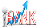 Ranks rising concept of internet search engine or status concept Royalty Free Stock Photos