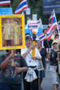 Ranong november people are in ranong small province in thailand they all walk for the protest against the amnesty bill and anti Stock Photos