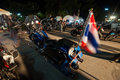 Ranong thailand november participants in th ranong bike week bikers from all over came to Royalty Free Stock Photos