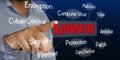 Ransomware Computer Virus Royalty Free Stock Photo