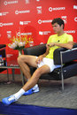 Raonic Milos new Canadian star (57) Royalty Free Stock Image