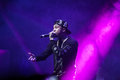 Rap concert of Tyga in Moscow Royalty Free Stock Photo