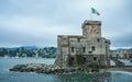 Rapallo Castle in Liguria Royalty Free Stock Photo