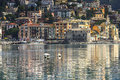 Rapallo the popular resort of the ligurian riviera Royalty Free Stock Images
