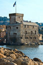 Rapallo's Castle Stock Image
