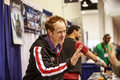 Raphael sbarge attends at the wondercon convention on march in anaheim ca Stock Photos