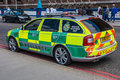Rapid Response Ambulance Royalty Free Stock Image