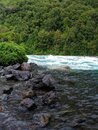 Rapids at Petrohue river Royalty Free Stock Photo