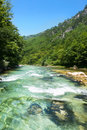 The rapids of River Neretva Stock Photos