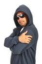 Rapper male posing Royalty Free Stock Photo