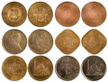 Rare arabian coins Royalty Free Stock Photography