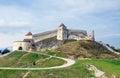 Rasnov citadel the of built in Royalty Free Stock Image