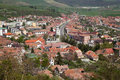 Rasnov city Royalty Free Stock Photo