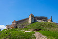 Rasnov fortress view of brasov county romania Royalty Free Stock Photography
