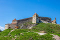 Rasnov fortress view of brasov county romania Royalty Free Stock Photos