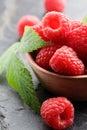 Raspberries Royalty Free Stock Photo