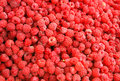 Raspberries background Royalty Free Stock Images