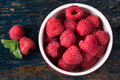 Raspberries Royalty Free Stock Photo