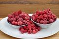 Raspberries still life Royalty Free Stock Photo