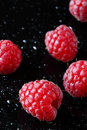 Raspberries & x28;macro shot& x29; Royalty Free Stock Photo