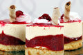 Raspberry cake food background