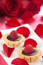 Raspberry Cake for Valentine Day Royalty Free Stock Photos