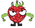 Raspberry cartoon character