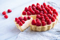 Raspberry cheesecake Royalty Free Stock Photo