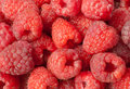 Raspberry close up Stock Images