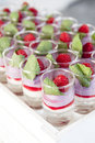 Raspberry dessert Royalty Free Stock Photo