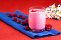 Raspberry Drink Royalty Free Stock Image