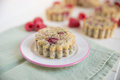 Raspberry Muffins Royalty Free Stock Photo