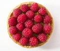 Raspberry and pistachios tart cake