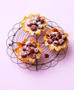 Raspberry tartlets Royalty Free Stock Photo