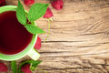 Raspberry Tea Royalty Free Stock Photo